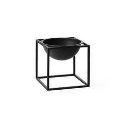 Kubus Bowl Black Small | Schalen | by Lassen