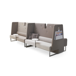 Le Mur sofa | Modular seating elements | Materia