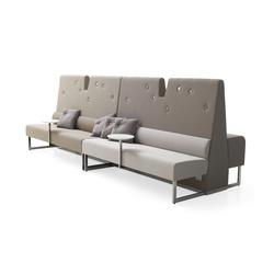 Le Mur sofa | Éléments de sièges modulables | Materia