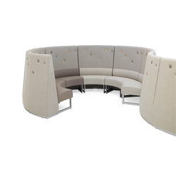 Le Mur sofa | Modular seating systems | Materia