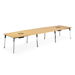 Angle conference table | Konferenztische | Materia