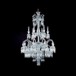 Solstice | Ceiling suspended chandeliers | Baccarat