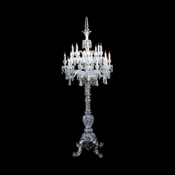 Tsarine | Floor lamps in glass | Baccarat