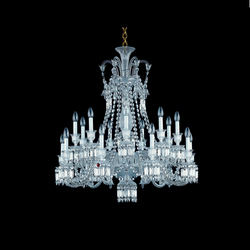 Zenith | Ceiling suspended chandeliers | Baccarat