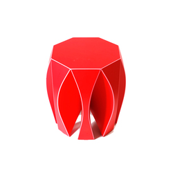 NOOK stool red | Garden stools | VIAL