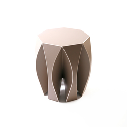 NOOK Hocker beige | Gartenhocker | VIAL