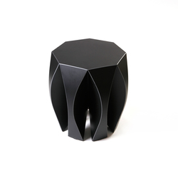 NOOK stool black | Garden stools | VIAL