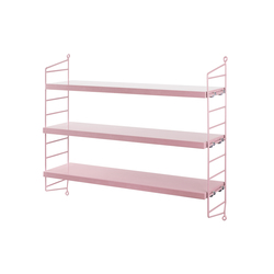 string pocket pink | CD racks | string furniture