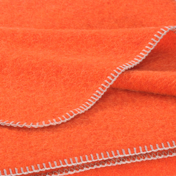 Alina Blanket mandarin | Plaids / Blankets | Steiner
