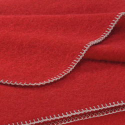 Alina Blanket cherry | Plaids / Blankets | Steiner
