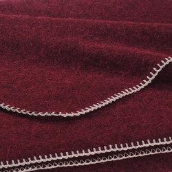 Alina Blanket blackberry | Coperte | Steiner1888