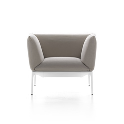 Yale armchair | Poltrone lounge | MDF Italia