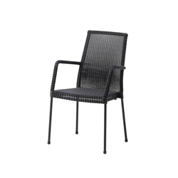 Newport Chair with Armrests | Sillas de jardín | Cane-line