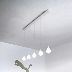 Liquid Light Drop 2 xs long 5 Mini pendant light | Lampade sospensione | next