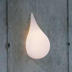 Liquid Light Drop small Wall light | Lampade parete | next