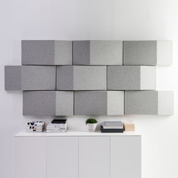 Triline Acoustical Wall Panel | Wall panels | Abstracta