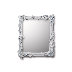Mirror with Lilies (white) | Mirrors | Lladró