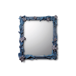 Mirror with Lilies (blue) | Mirrors | Lladró