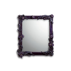 Mirror with Lilies (purple) | Mirrors | Lladró