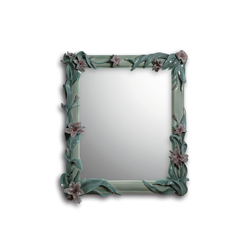 Mirror with Lilies (green) | Mirrors | Lladró