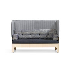 Koja Sofa High S52H | Loungesofas | Blå Station