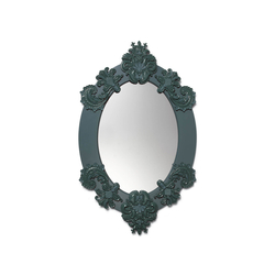 Oval Mirror (green) | Specchi | Lladró