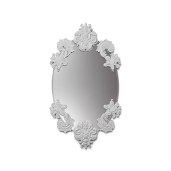 Oval Mirror without Frame (white) | Mirrors | Lladró