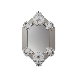 Eight Sided Mirror (white/silver) | Spiegel | Lladró