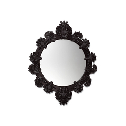 Round Mirror Small (black) | Mirrors | Lladró