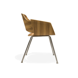 Paz Guest Chair Four Leg | Visitors chairs / Side chairs | Stylex