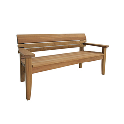 Chico Full Bench | Bancos | Benchmark Furniture