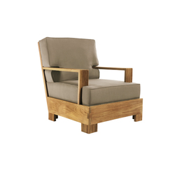 3203 Reeded Lounge Chair | Garden armchairs | Sutherland
