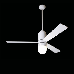 Cirrus brushed gloss white with 352 light | Ceiling fans | The Modern Fan