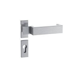 Standard door fittings for framed doors design 187X | Set di maniglie | HEWI
