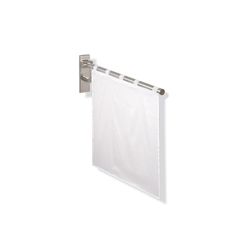Shower spray guard | Shower curtain rails | HEWI
