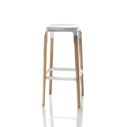 Steelwood Hocker | Barhocker | Magis