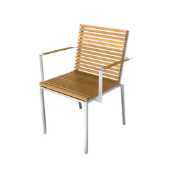 Home Collection Dining | Chair with Armrest | Sièges de jardin | Viteo