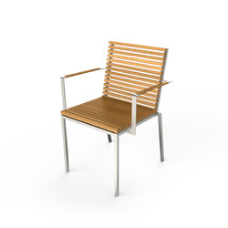 Home Chair with Armrest | Sillas de jardín | Viteo