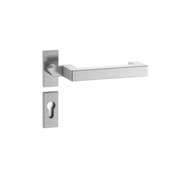 Standard door fitting design 104X | Juego picaportes | HEWI