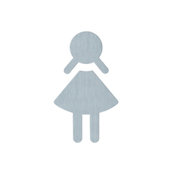 Symbol, female | Toilet signs | HEWI