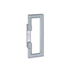 Push/pull handle 162XADG04 | Push plates | HEWI