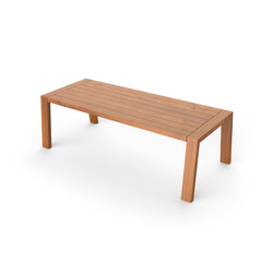 Solo Table | Tables à manger de jardin | Viteo