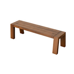Solo Collection | Bench 160 | Garden benches | Viteo