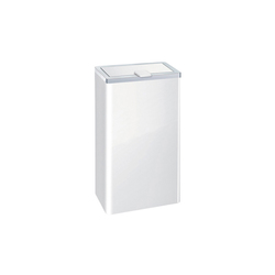 Wastepaper bin with cover | Papeleras | HEWI