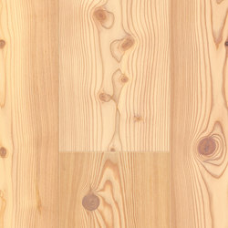 FLOORs Softwood Larch white basic | Wood flooring | Admonter Holzindustrie AG