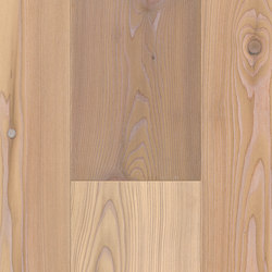 FLOORs Softwood Larch white lye-washed naturelle | Wood flooring | Admonter Holzindustrie AG