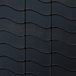Flux Raw Steel Tiles | Mosaïques métal | Alloy