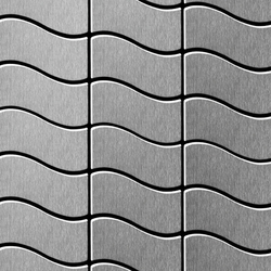 Flux Stainless Steel 2B | Metal mosaics | Alloy