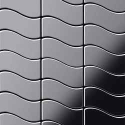 Flux Stainless Steel Mirror Polished Finish | Mosaïques en métal | Alloy