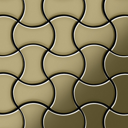 Infinit Brass Tiles | Mosaïques | Alloy